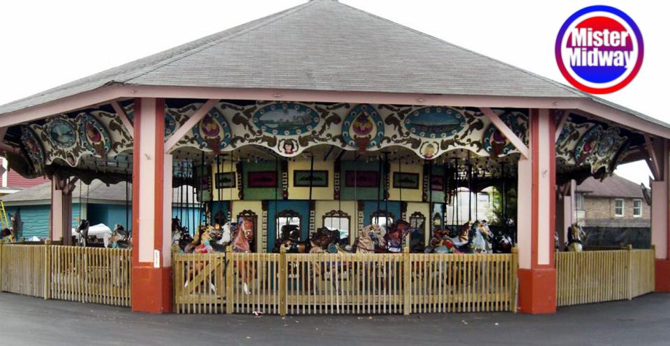 1920's 4 abreast dentzel carousel